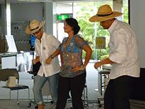 ドミニカ共和国の ダンスです。